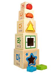 Недорогие -Конструкторы Игры с блоками Обучающая игрушка Квадратный Cool Детские Игрушки Подарок