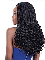 cheap -Braiding Hair Curly Bouncy Curl Crochet Curly Braids Hair Accessory Human Hair Extensions Kanekalon Hair Braids Daily
