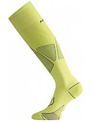 cheap -Compression Socks Athletic Sports Socks Men's Women's Tube Socks Socks Fitness, Running & Yoga Running Sports Winter Cotton White Fuchsia Green