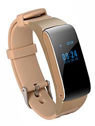 cheap -Men's Women's Fashion Watch Digital Water Resistant / Waterproof Digital Black Gold Gray / Rubber / Pedometers