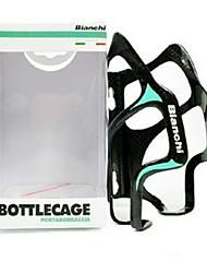 cheap -Bike Water Bottle Cage Carbon Fiber Portable Lightweight Wearable Wearproof Durable For Cycling Bicycle Road Bike Mountain Bike MTB Carbon Fiber 1 pcs