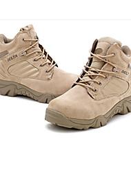 cheap -Men's Hiking Boots Fishing Camping & Hiking Outdoor Comfortable Sporty Low-Top Hiking Climbing Hunting and Fishing Black Khaki