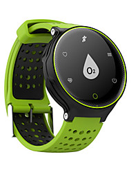 Недорогие -Муж. Смарт Часы Цифровой силиконовый Синий / Красный / Зеленый Цифровой Красный Зеленый Синий
