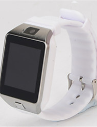 cheap -Smartwatch Digital Rubber Black / White Digital Black Black / Silver White