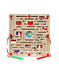cheap -Maze Magnetic Maze 1 pcs Wooden Magnetic Kid's Toy Gift
