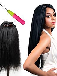 cheap -Crochet Hair Braids Pre-loop Box Braids Synthetic Hair Braiding Hair 1pc / pack