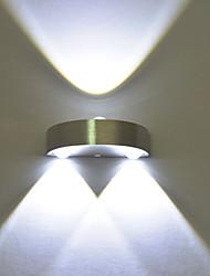 Недорогие -современный 3w led wall sconce крытый коридор вверх вниз пятно света алюминиевое декоративное освещение