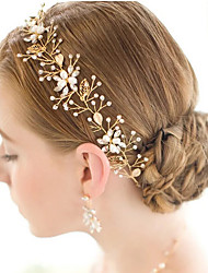 cheap -Pearl / Crystal / Alloy Tiaras / Headbands / Head Chain with 1 Wedding / Special Occasion Headpiece