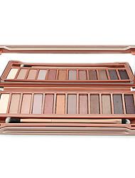 cheap -12 Colors Eyeshadow Palette Powders Eye Matte Shimmer Glitter Shine smoky Daily Makeup Smokey Makeup Cosmetic Gift