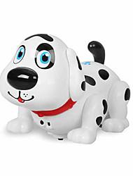 Недорогие -Игрушки на пульте управления Аксессуары для кукольного домика Собаки Машина Smart Пульт управления Танцы Электрический умный моделирование Пластик Назначение Детские