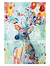 cheap -1000 pcs Christmas Elk Deer Jigsaw Puzzle Adult Puzzle Jumbo Wooden Anime Cartoon Adults' Toy Gift