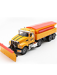 cheap -1:50 Metal Alloy Construction Truck Set Cargo Truck Dump Truck Snowplow Toy Car Simulation Truck Boys' Girls' Kid's Child's Car Toys Gift