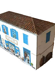 cheap -3D Puzzle Paper Craft Famous buildings House DIY Hard Card Paper Kid's Unisex Toy Gift