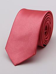 abordables -Homme Cravate Cravate Couleur Pleine