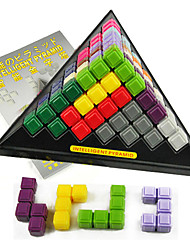 cheap -Building Blocks Stacking Game Educational Toy Intelligent Pyramid Construction Set Toys Tower compatible Plastics Legoing Smart intelligent Boys' Girls' Toy Gift / Kid's