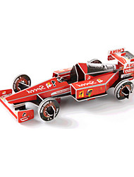 cheap -3D Puzzle Jigsaw Puzzle Car DIY High Quality Paper Classic Race Car Kid's Unisex Boys' Girls' Toy Gift