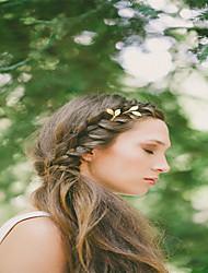Недорогие -Европы и США внешней торговли украшения для волос минималистской системы природы модные шорты шпильки сплава лист шпильки a0274-0275