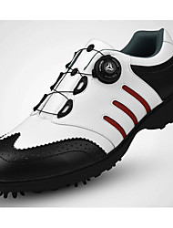 cheap -Men's Golf Shoes Golf Adjustable / Retractable Cushioning Soft Artistic Style Modern Style Stylish Spring, Fall, Winter, Summer Black and White