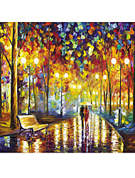 cheap -1000 pcs House Cartoon Jigsaw Puzzle Adult Puzzle Jumbo Wooden Adults' Toy Gift