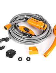 Недорогие -12v электрический автомобиль вилка открытый кемпинг путешествия душ оборудование для очистки