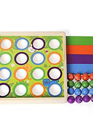 Недорогие -Настольные игры Обучающая игрушка деревянный Детские Мальчики Игрушки Дары