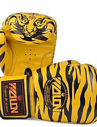 cheap -Boxing Training Gloves For Boxing Mittens Safety Unisex - White Yellow Pink