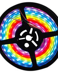 cheap -HKV 5m LED Light Strips Waterproof Tiktok Lights 300 LEDs 2835 SMD Purple Flexible Cuttable 12 V 1pc
