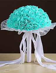 "cheap -Wedding Flowers Bouquets Wedding Satin 9.84""(Approx.25cm)"