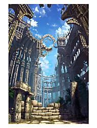 Недорогие -1000 pcs Новинки Китайская архитектура Лошадь Пазлы Головоломка для взрослых Огромный деревянный Взрослые Игрушки Подарок