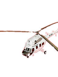 cheap -3D Puzzle Paper Model Helicopter DIY Hard Card Paper Helicopter Kid's Unisex Toy Gift