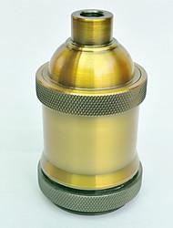cheap -E27 Gold Antique Lamp Holder Short Thread High Quality Lighting Accessory