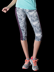 cheap -Women's Running Pants Track Pants Sports Pants Athletic Pants / Trousers Athleisure Wear Sport Running Hiking Climbing Windproof Quick Dry Breathability Violet Fuchsia Gray Printing / High Elasticity