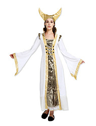 cheap -Cosplay Goddess Cosplay Costume Party Costume Women's Halloween Carnival Festival / Holiday Elastane Tactel Women's Carnival Costumes Vintage / Hat
