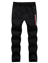 cheap -Men's Running Pants Track Pants Sports Pants Sweatpants Athletic Pants / Trousers Athleisure Wear Bottoms Cotton Exercise & Fitness Running Casual / Daily Sport Black Light Grey Dark Blue Simple
