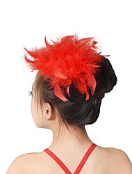 cheap -Dance Accessories / Ballet Headpieces Training Feather Feathers / Fur / Performance