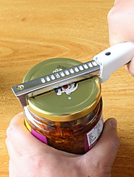 cheap -Adjustable Stainless Steel Jar Lid Opener Anti-slip Can Lid Screw Bottle Opener