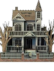 cheap -3D Puzzle Paper Model Model Building Kit Ghost DIY Hard Card Paper Classic Kid's Unisex Boys' Toy Gift