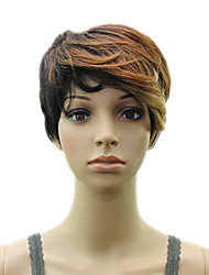 cheap -Synthetic Wig Curly Curly Layered Haircut Wig Blonde Short Blonde Synthetic Hair Women's Blonde hairjoy