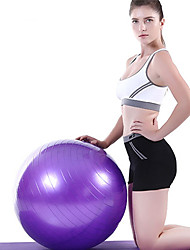 "cheap -21 1/2"" (55 cm) Exercise Ball / Fitness Ball / Yoga Ball Explosion-Proof PVC(PolyVinyl Chloride) Support With For Yoga / Training / Balance"