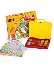 Недорогие -Образовательные игры с карточками Игрушки для обучения математике Обучающая игрушка Экологичные Пластик Детские Игрушки Подарок