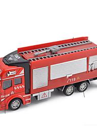 Недорогие -Игрушечные машинки Мотоспорт Строительная техника Пожарная машина Автоцистерна для полива Пожарные машины Универсальные Мальчики Игрушки Подарок