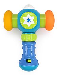 cheap -Hammering / Pounding Toy LED Lighting Dollhouse Accessory Music & Light Plastics Kid's Toy Gift