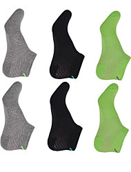 cheap -Compression Socks Athletic Sports Socks 6 Pairs Men's Women's Socks Ankle Socks Fitness, Running & Yoga Limits Bacteria Sports Running Sports Simple Cotton Chinlon / Stretchy