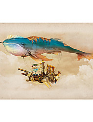 cheap -1000 pcs Fish Ship Jigsaw Puzzle Adult Puzzle Jumbo Wooden Adults' Toy Gift