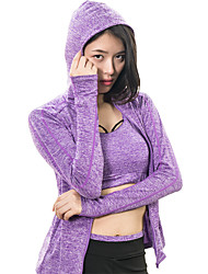 cheap -Women's Tracksuit Sports Clothing Suit Yoga Running Exercise & Fitness Fitness Jogging Fitness, Running & Yoga Anti-Shake / Damping Quick Dry Purple