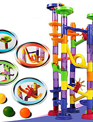 cheap -Building Blocks Maze Marble Track Set Educational Toy Marble Run DIY Toys 105 pcs Plastics Boys' Girls' Kid's Toy Gift
