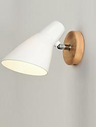 cheap -Antique / Modern Contemporary Wall Lamps & Sconces Wood / Bamboo Wall Light 110-120V / 220-240V 60 W / E26 / E27