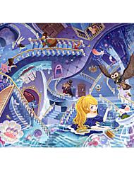 Недорогие -Замок Знаменитое здание Мультяшная тематика Цветы Пазлы Головоломка для взрослых Огромный деревянный Взрослые Игрушки Подарок