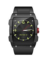 Недорогие -Муж. Смарт Часы Цифровой силиконовый Черный / Оранжевый Цифровой Черный Оранжевый Черный / Серебристый