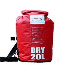 Недорогие -Sealock 25 L Водонепроницаемый сухой мешок Водонепроницаемый рюкзак Водонепроницаемость Прочный для Плавание Ныряние / гребля